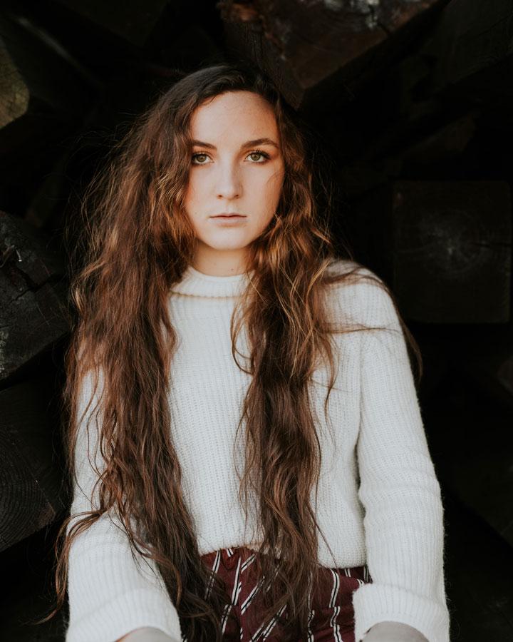 Cheveux ondulés - Bouclette