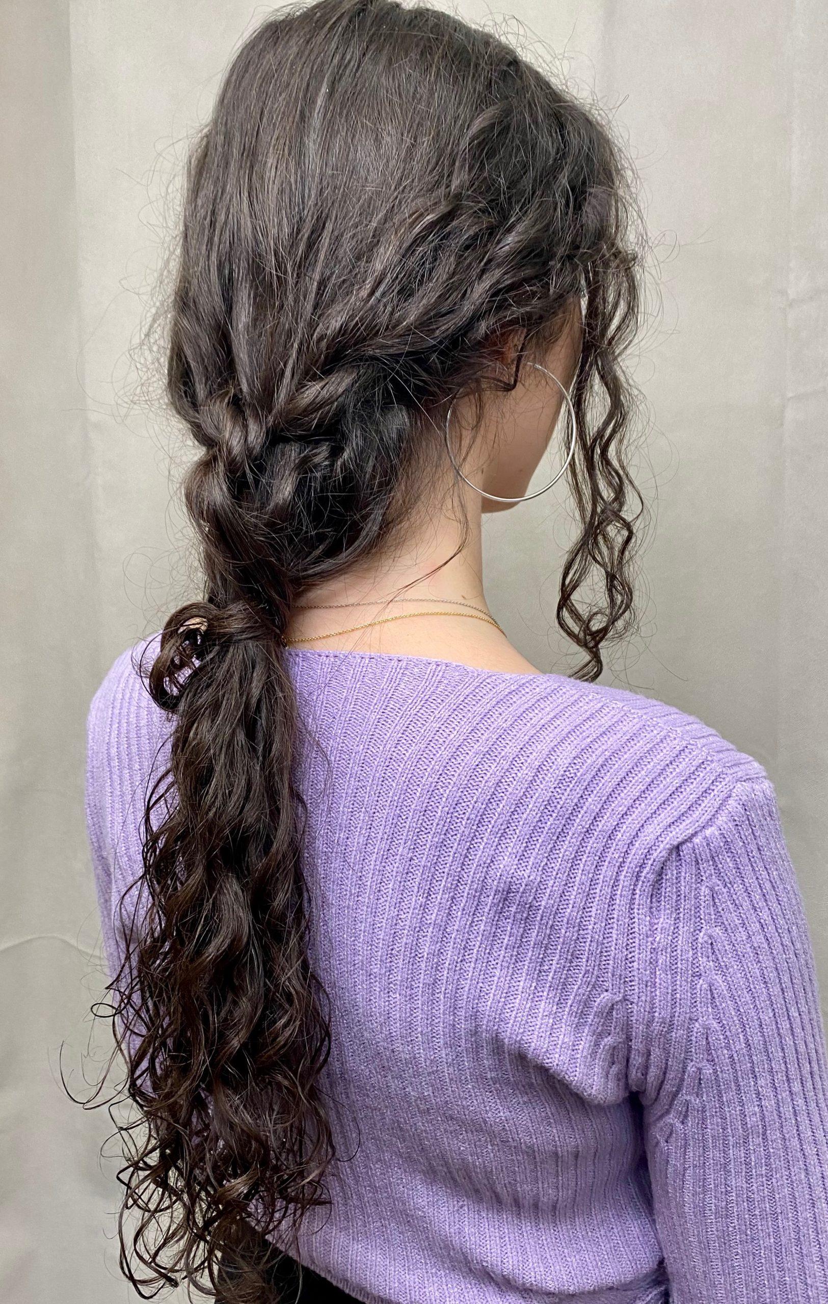 How to : La ponytail romantique
